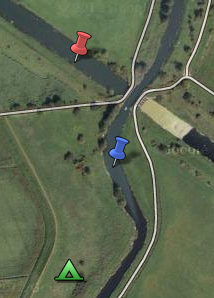Junction of the Cut-Off Channel and the River Wissey