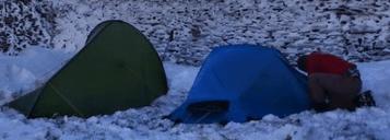 lone walker wild camp