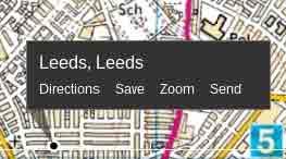 Leeds OS map