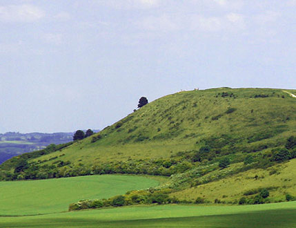 Ivinghoe Beacon seen from The Ridgeway