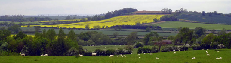 High Leicestershire hills