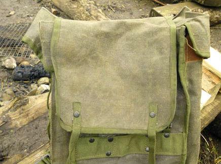 Introducing the beautiful and rugged Italian 'Alpini' Canvas rucksack