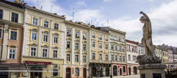 Rynok square. Lviv