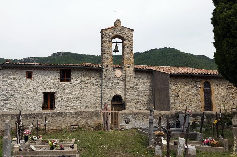 Cailla church