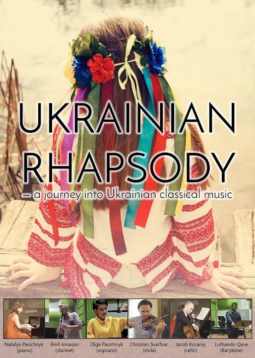 Ukrainian rhapodsy poster