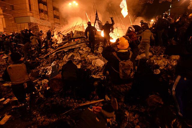 Maidan February 18, 2014