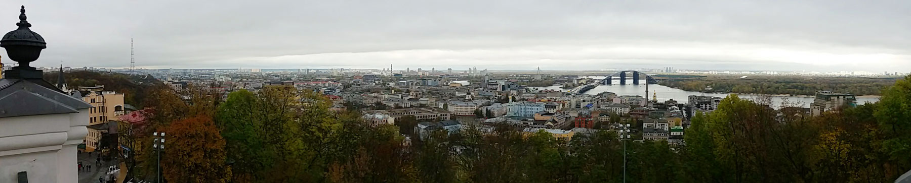 View over Podil